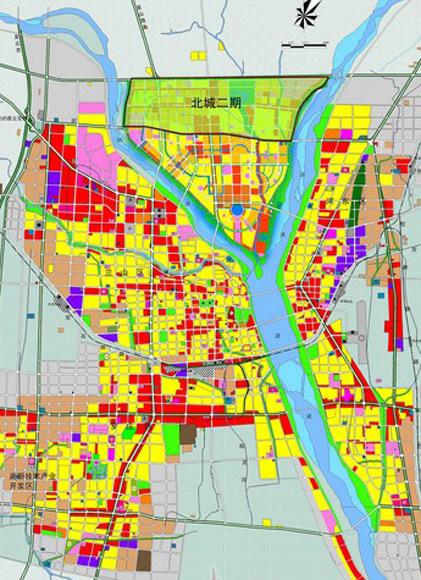 细解读临沂北城新区二期规划