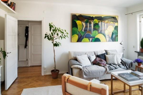 不一般的暖意 44平阳光照耀的单身公寓