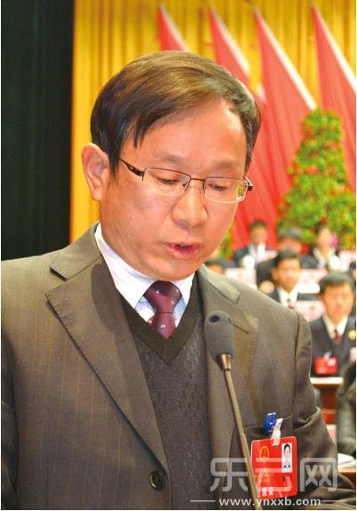 1月11日,时任大理市代市长的李福安向大会作《政府工作报告》