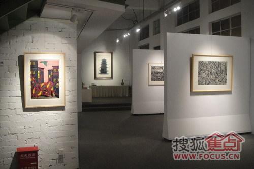 ...版木刻版画作品杭州巡回展》   由杭州元   构画廊、宁波修山...