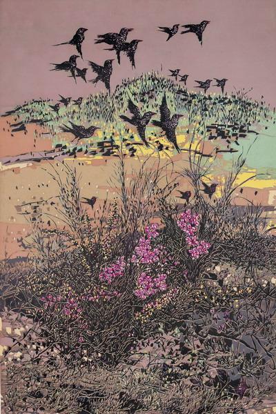 妙曼 普洱 绝版木刻版画作品杭州巡回展