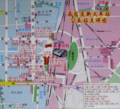 站正定新区详细规划成石家庄新版地图亮点