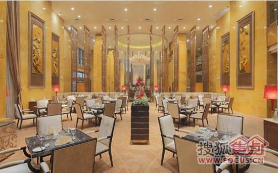 图2:欧式风格的西餐厅