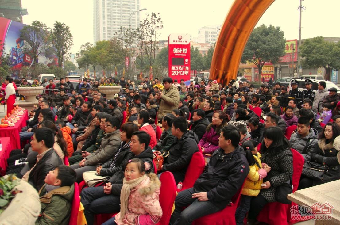蚌埠万达广场2013绚彩欧洲新春嘉年华圆满举行高清图片
