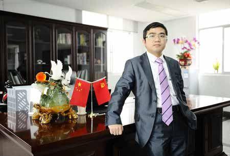 中宇建材集团营销副总裁林文武