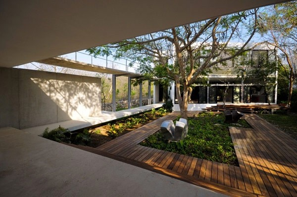 花园洋房庭院设计图