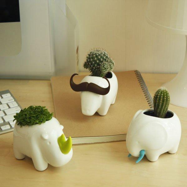 动物花瓶 精致家居装饰品