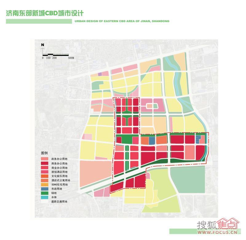 济南东城巡礼之东部新城CBD 助推发展的城市功能中心