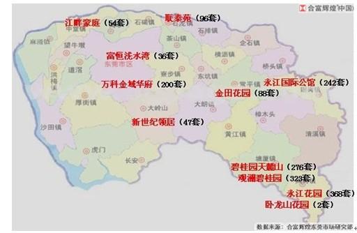 东莞塘厦全境地图