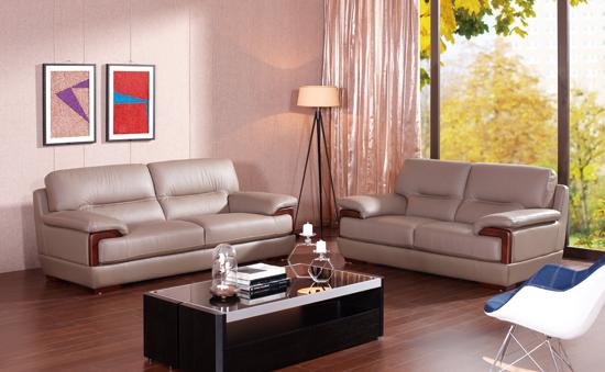 健威家具客廳-意大利進口牛皮沙發圖片