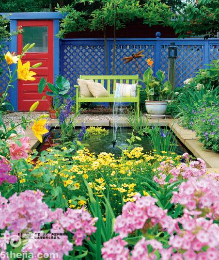 我的秘密花园 美丽风景快到碗里来(组图)