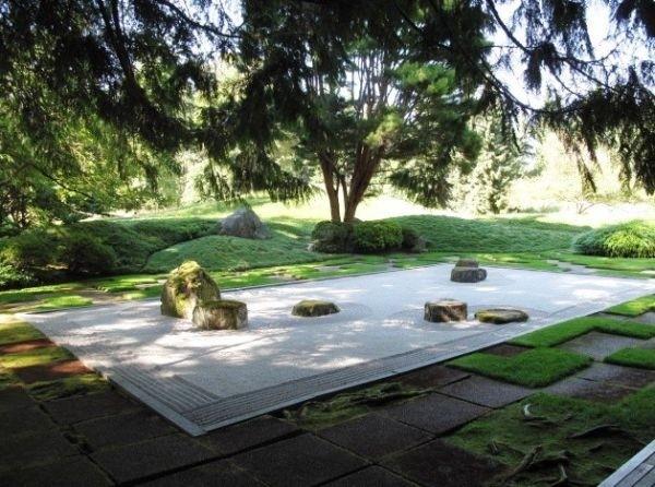 禅的自然 28款日式现代庭院景观设计(组图)图片