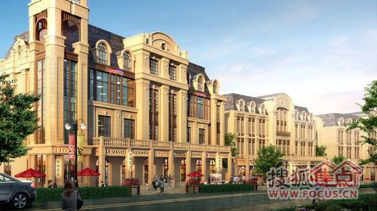 别墅商业谁与争锋龙首商业街开启新篇章宁波买新贵图片