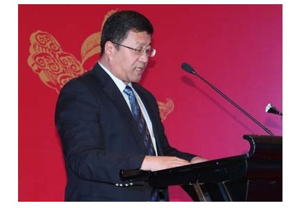 中国日报网总裁 张兴波致辞