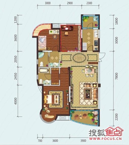 300平方土地兩層樓房設計圖