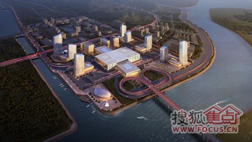 横琴投资在建项目之 横琴口岸及综合交通枢纽项目
