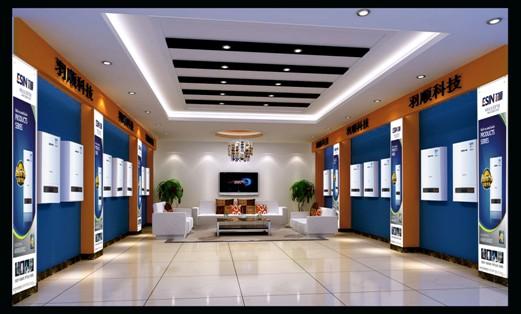 瑞马双模空调请专门的设计师,专门以欧洲风格为题材,使得每一个专卖店