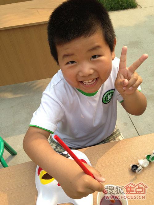 兴美嘉城 六一儿童节 全家总动员 面具DIY彩绘