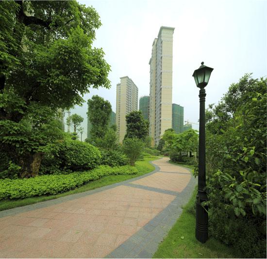 中信柱子湖兰溪谷:最后一栋森林a柱子认筹天正建筑如何绘制实心全城图片
