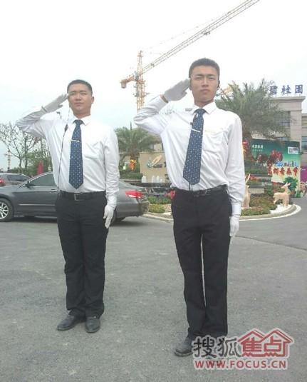 如东碧桂园:保安小伙,最可爱的人