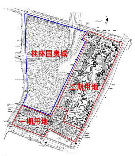项目区块划分图