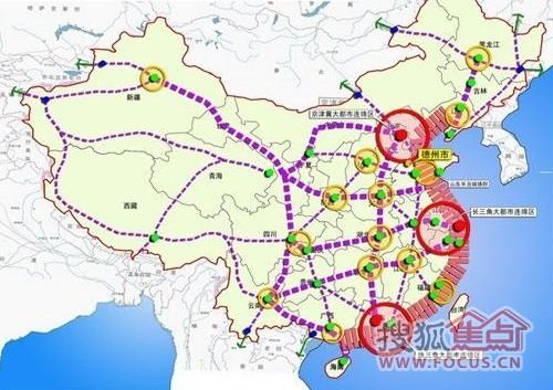全国城市规划图