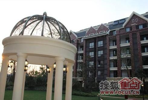 红豆清华苑首期花园洋房开盘在即爱丽舍花园别墅图片