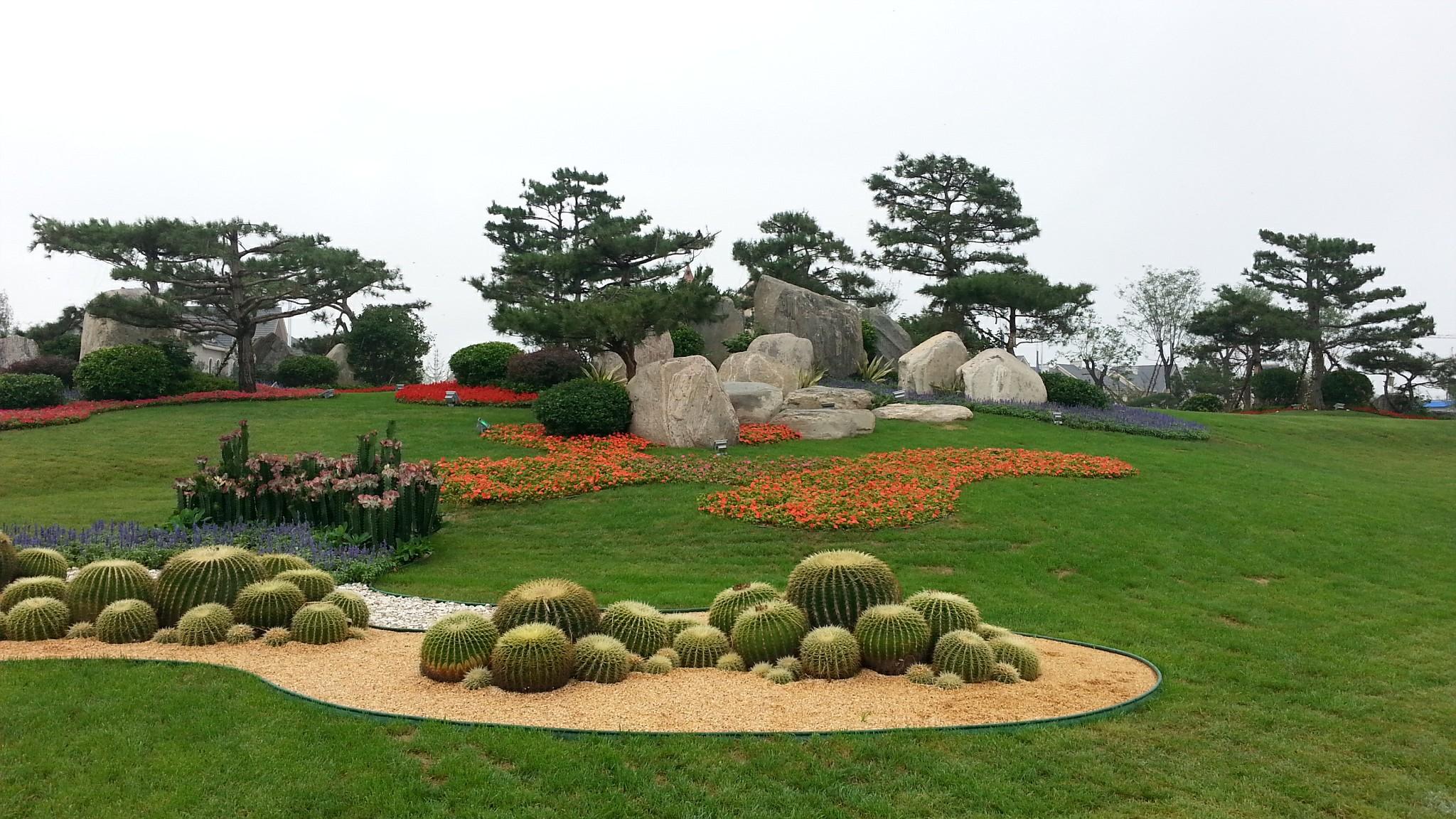 碧桂园十里金滩6倍于平底园林造价的果岭景观图片