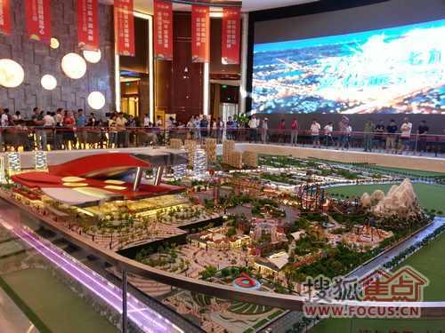 盛世万达 哈尔滨万达城展示中心璀璨启幕