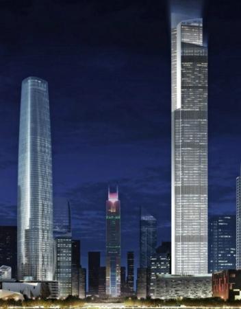 中国十大在建摩天大楼