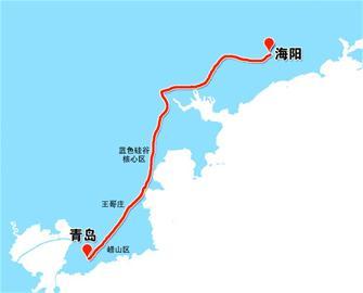 青岛新规划3条城际轨道 一个半小时到济南(图)