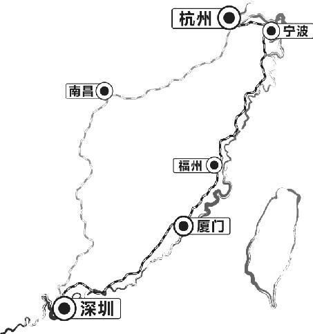 现在从杭州去深圳的旅客,除了乘坐直达快车外,更多的是选择乘坐飞机