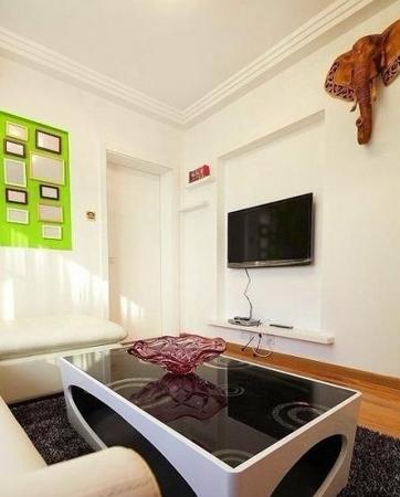 5万轻松打造80平方两室一厅简约婚房 组图高清图片