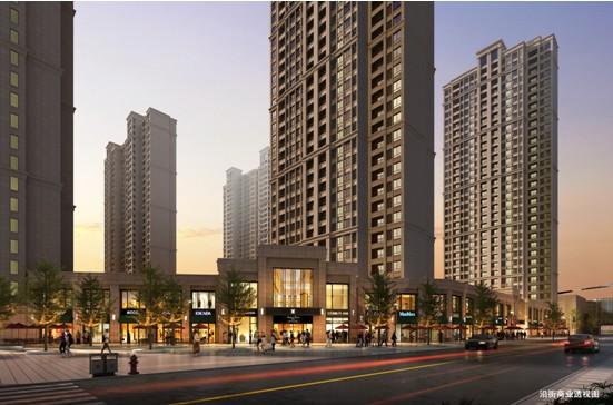 (繁华里沿街商业效果图)-天气热了 华润中心 繁华里新品住宅火了高清图片