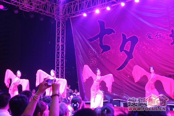 汉舞表演图片