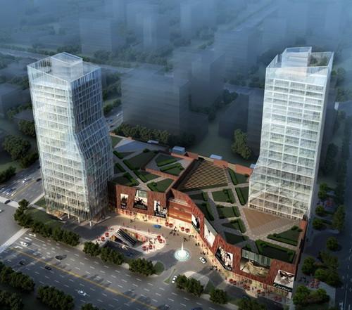 金润国际广场 最美LOFT一层两用 河西CBD独此一处