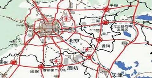 北京大外环规划图;