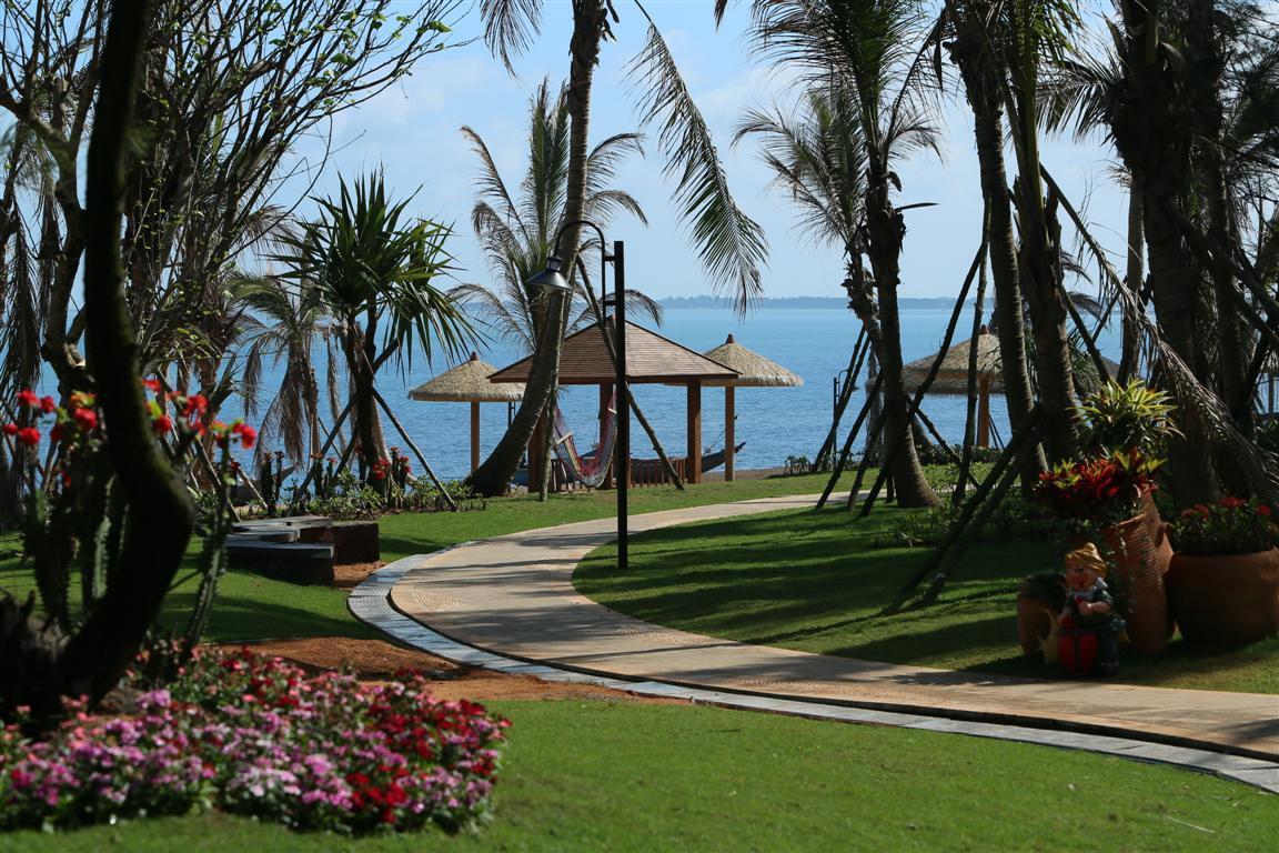 碧桂园61金沙滩首创海南滨海公园式主题园林