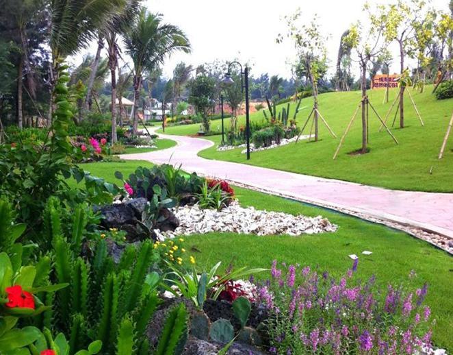 海口西东南亚风情园林盘点之碧桂园金沙滩