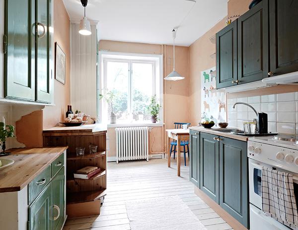 简约白色软装家 38平方清雅的单身公寓(组图)