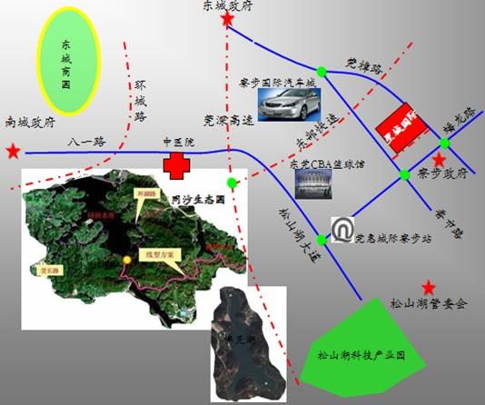 成为除万江,莞城,东城和南城四城之后的第五城,迅速融入东莞主城区.图片