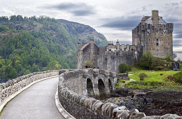 探访欧洲古老而神秘的十座城堡 组图