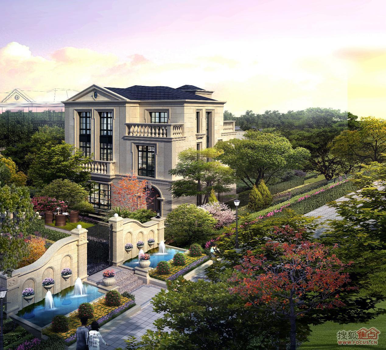 全花园设计,9大开先河空间再创造,御制匹配城市巅峰阶层的私人城堡,独图片