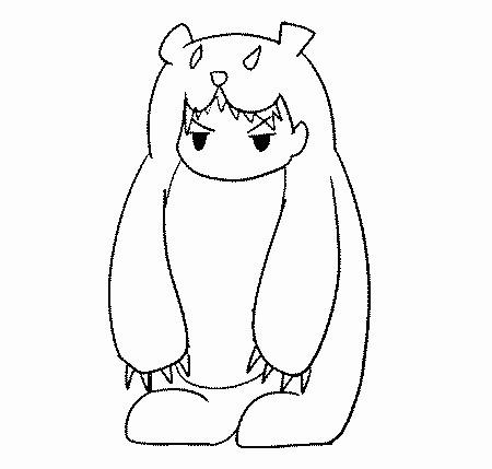 消防栓简笔画-你遇到过熊孩子吗