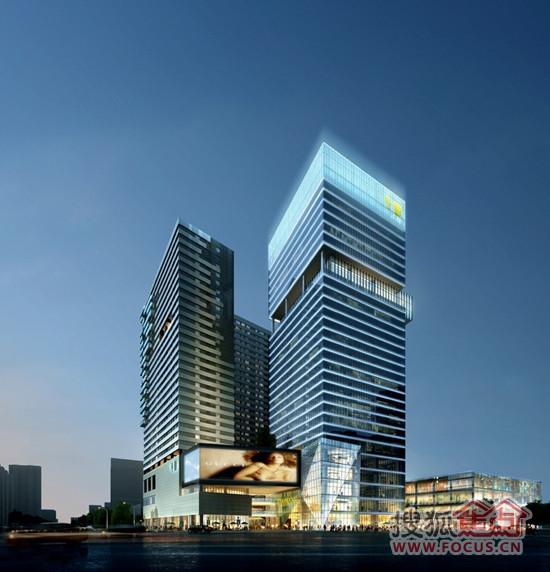 东怡外国打造城市极中心,高端地铁物业.