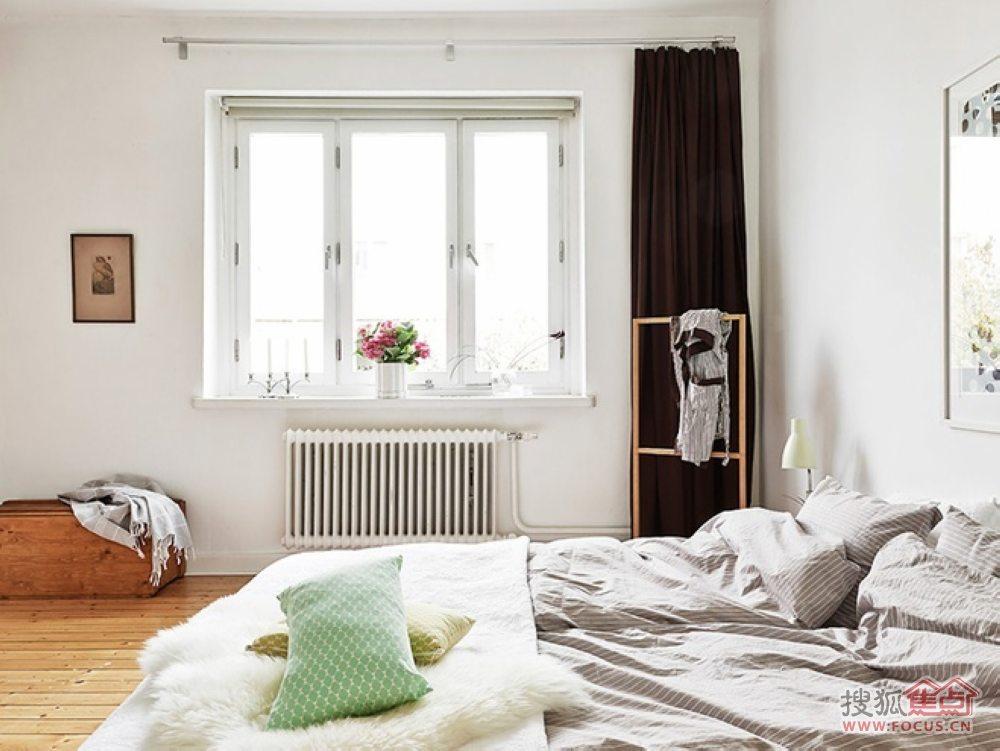 55平米清新唯美的女孩公寓
