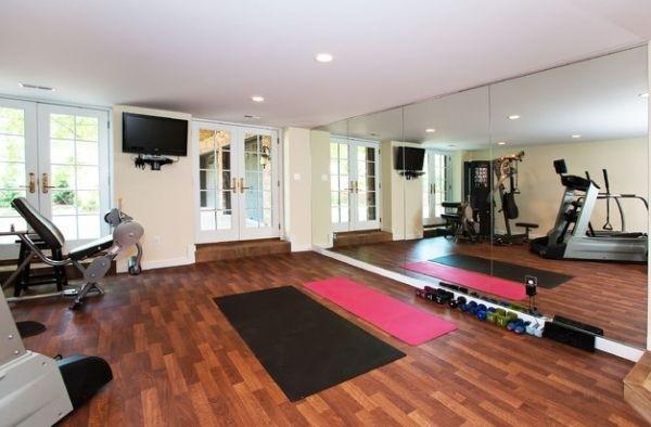 将运动进行到底 多款家庭健身房设计(组图)