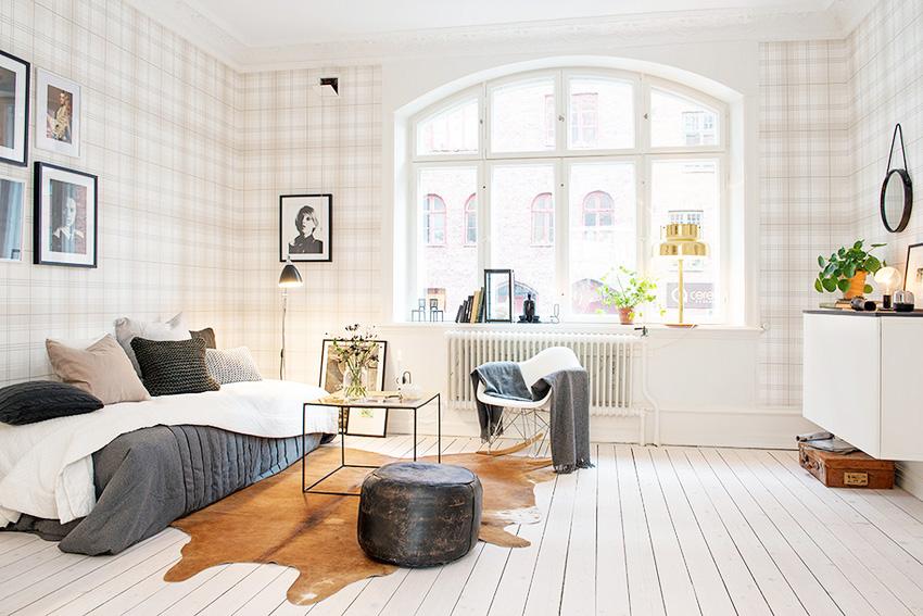 墙格子造型图片客厅