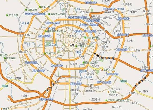 """一位网友称,""""成都市在发展远郊的基础上,更应该先注重主城区与郊县图片"""