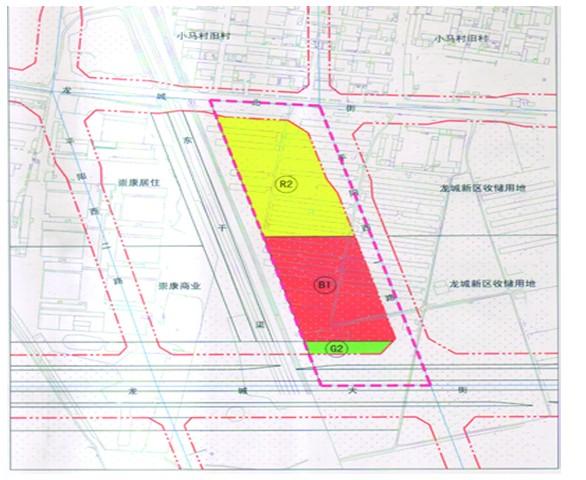 太原龙城大街片区一地块规划